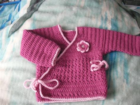 crochet pattern baby kimono pin by eli g 236 on uncinetto baby pinterest