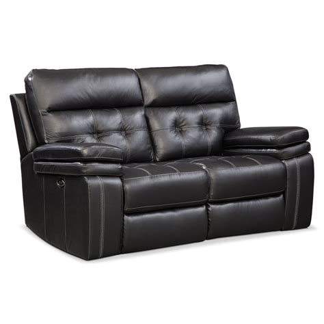 black reclining sofa and loveseat brisco power reclining sofa reclining loveseat and glider