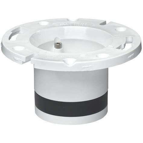 How To Replace Closet Flange by Oatey 4 In Pvc Dwv Replacement Closet Flange 43539 The
