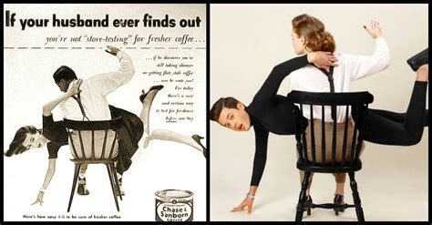 gender role reversal in ads reversing gender roles courting family 1950s sexist ads are recreated with gender role reversal