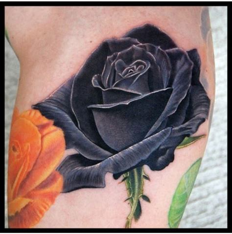 dead roses tattoo 12 best dead flowers black tattoos for images on