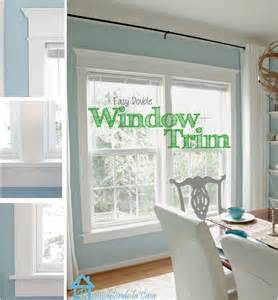 installing blinds on trim remodelaholic how to frame a window tutorials tips