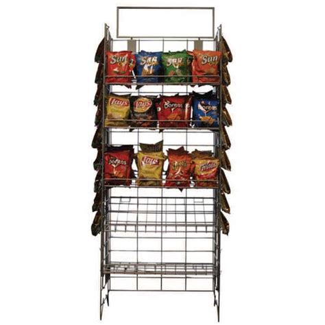 Wire Display Racks by Convenience Store Wire Display Rack