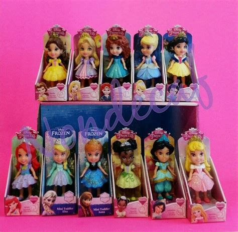 Disney Posable Mini Toddler stuffers chore rewards 11 mini toddler sparkle