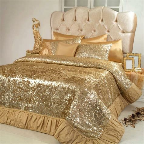 gold bed comforters 1000 ideas about gold bedding on pinterest white and