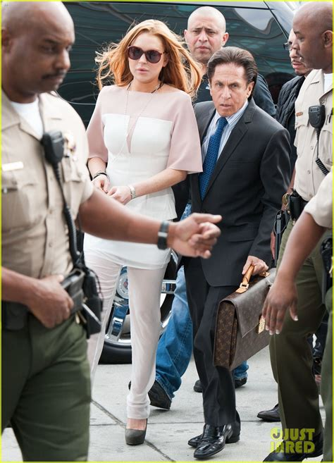 Exclusive Lindsay Nixes Deal by Sized Photo Of Lindsay Lohan Takes Plea Deal Rehab