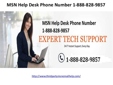msn help desk phone number 1 888 828 9857