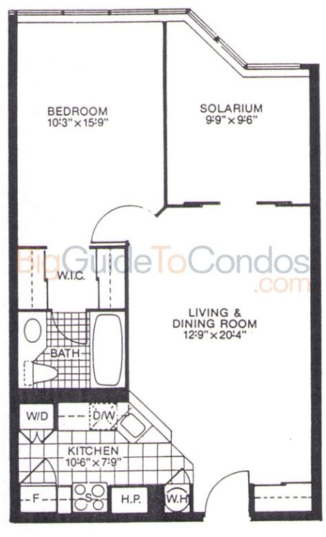 10 E Ontario St Floor Plans by 1001 Bay Reviews Pictures Floor Plans Listings