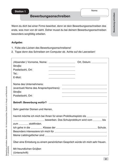 Bewerbung Grundschule Inklusion 183 Arbeitsbl 228 Tter 183 Sekundarstufe I 183 Lehrerb 252 Ro