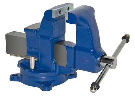 heavy duty bench vise yost 204 5 4 5 quot heavy duty bench vise tools hand