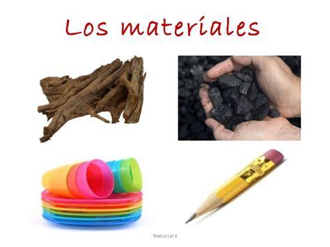 imagenes materiales naturales los materiales
