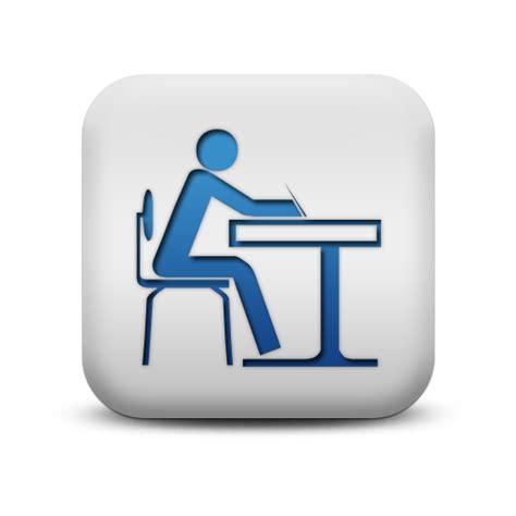 Math Desk Student At Desk Desks Icon 117760 187 Icons Etc