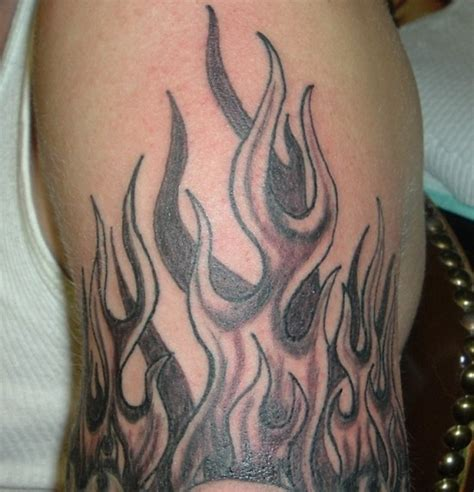 flames tattoo tattoos
