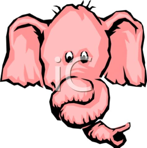 the elephant with a knot in his trunk books pink elephant with it s trunk in a knot royalty