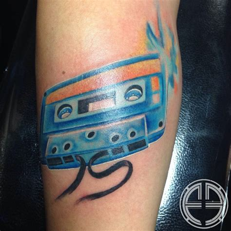 cassette tape tattoo 8 cassette tattoos tattoodo