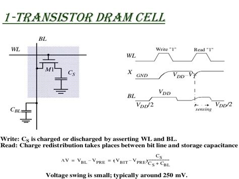 transistor cells semiconductor memories