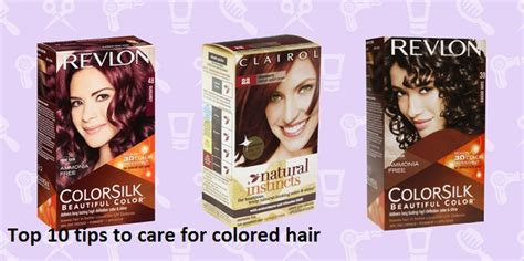 how to care for colored hair top 10 tips to care for colored hair