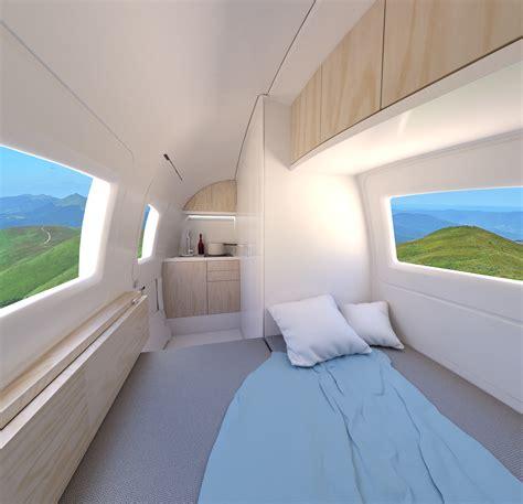 Futuristic Homes Interior Ecocapsule Ecocapsule