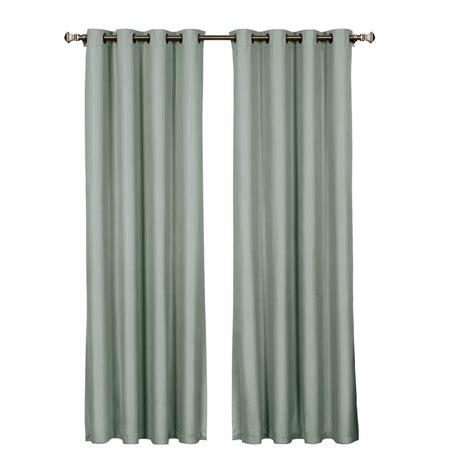 54 curtain panels bella luna emma microfiber room darkening lake blue