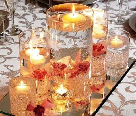 do it yourself wedding centerpieces floating candles 10 best images about 50th anniversary centerpieces on floating candles and