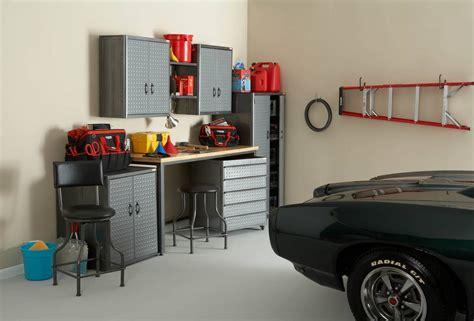 Powells Garage by Powell Rod Garage Storage Cabinet Set 632 Set