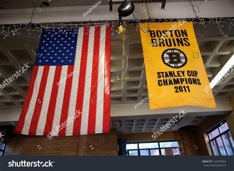 boston italian section boston may 11 banner of boston bruins in ladder no 1