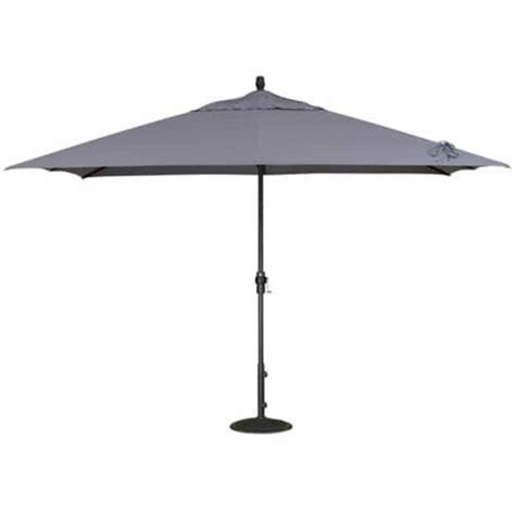 Patio Umbrella Accessories 8 X 11 Crank Lift Aluminum Umbrella