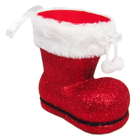 santa boots containers decorations santa