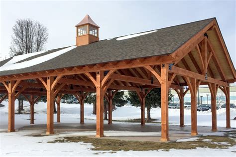 Cabin Plans With Porch 30 x 50 timber frame pavilion at wcsu the barn yard