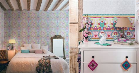 girly wallpaper bedroom 8 creative illustration wallpaper for your room ideas
