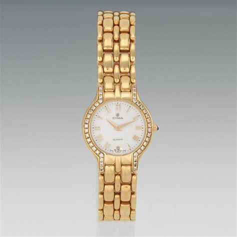 a cyma 18k gold and wrist 03 29 12