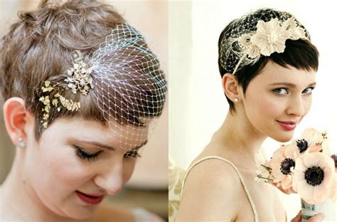 wedding hairstyles for pixie cuts pixie wedding hairstyles to inspire all brides