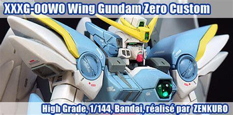 Hg Wing Zero Custom Bandai hg wing gundam zero custom 1 144