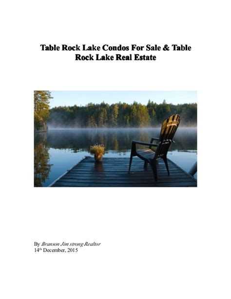 table rock lake property for sale by owner table rock lake condos for sale table rock lake estate