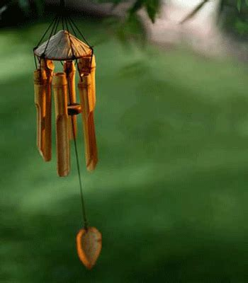 Eco Bamboo Wind Chime by 11 Feng Shui Garden Design Tips Backyard Landscaping Ideas