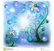 Flores Azules De Hadas La Momia Y Del Beb&233 En Fondo So&241ador