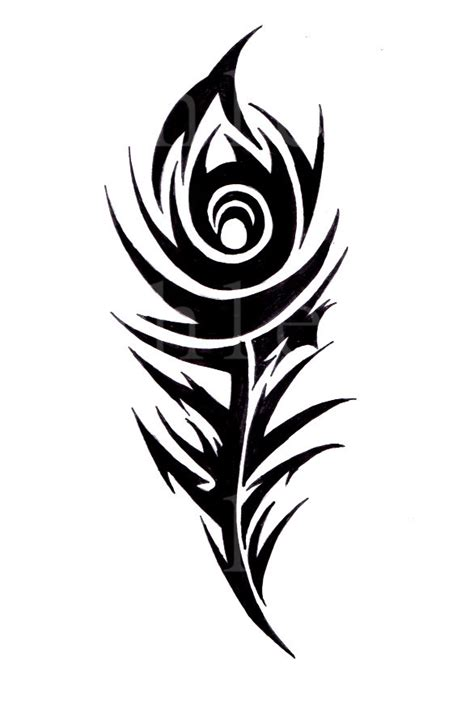 tribal peacock tattoo designs tribal peacock feather by tattoosbyashleigh on deviantart