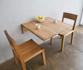 Small Kitchen Table With Drop Leaf - wall mounted table