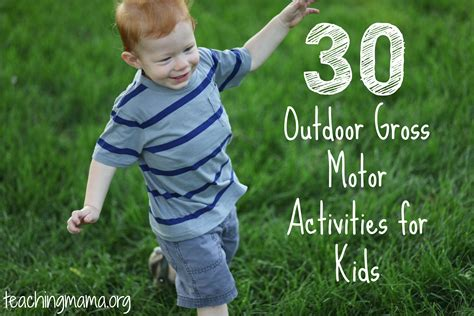 backyard games for toddlers 30 gross motor activities for kids