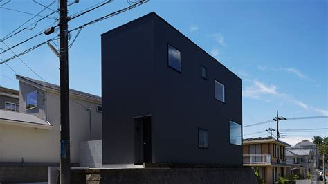 Metal Awnings New Orleans Tokyo Modern Home Is Bunker On The Outside Airy Loft On