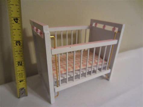 dollhouse nursery furniture dollhouse miniature nursery furniture white pink pearl