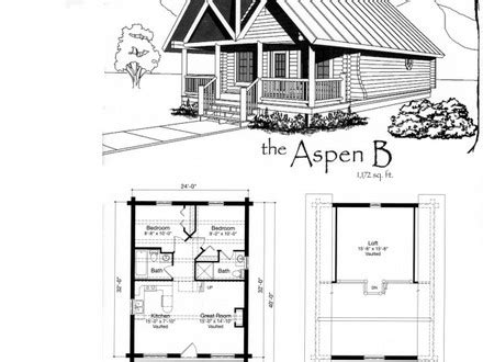 Small Cabin Blueprints small cabin house floor plans small cabin blueprints