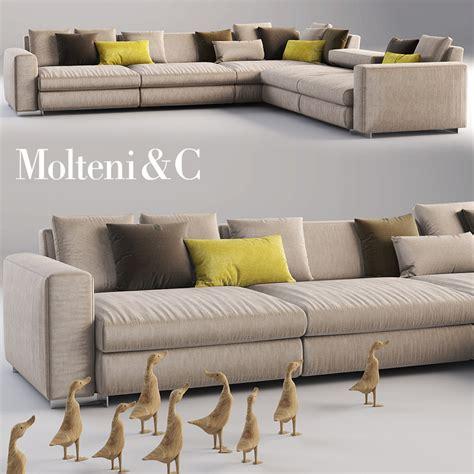 molteni sofa molteni c sofa 3d model