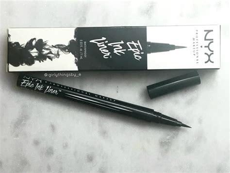 tattoo ink eyeliner review nyx epic ink waterproof eyeliner dupe alert