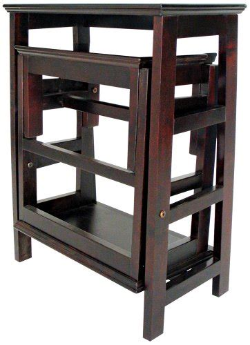 Wayborn Retractable Wooden Step Stool by Gt Gt Affordable Wayborn Retractable Wooden Step Stool