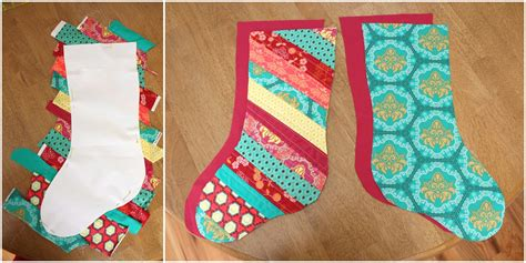 quilt patterns for christmas stockings free fat quarter gang scrappy christmas stockings by diary of