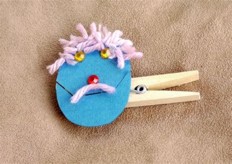 easy peg puppets thriftyfun