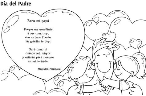 imagenes para dedicar por el dia del padre dibujos para colorear el dia del padre con frases