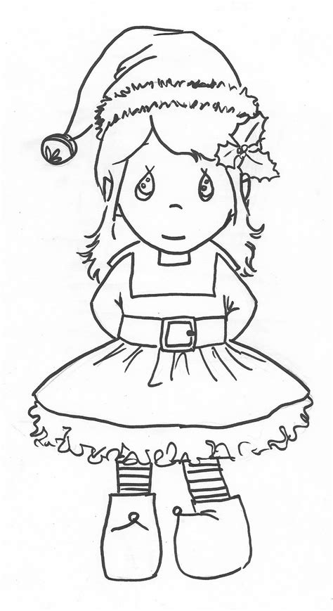 Cute Coloring Pages Of Elves | cute elf coloring pages az coloring pages