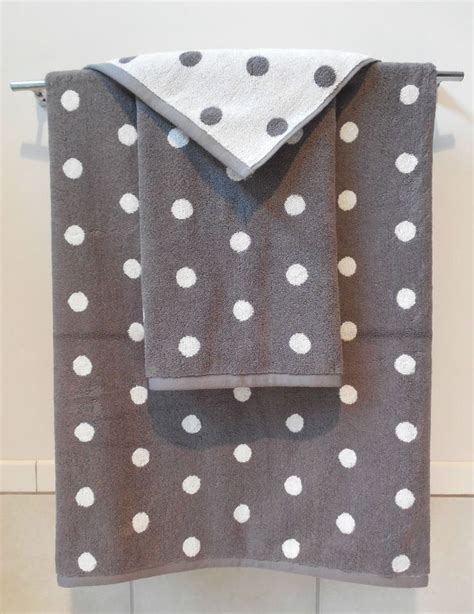 polka dot bathroom bathroom polka dot bath towels renovation grey and white